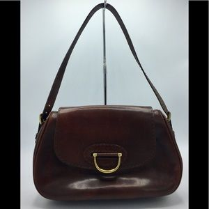Cora & Dee Roma Italy Handcrafted Leather Bag